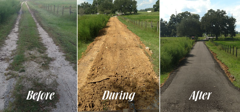 Driveway installation in Dade City, %%state.