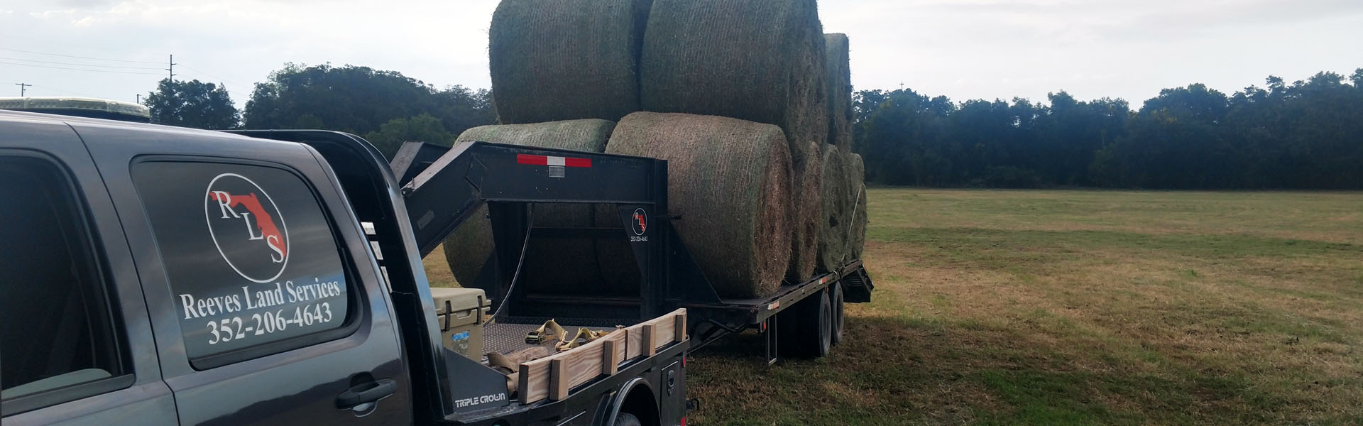 Bailing Hay In Florida